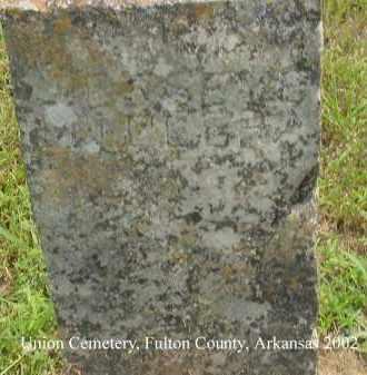 MILLER, JESSE E. - Fulton County, Arkansas | JESSE E. MILLER - Arkansas Gravestone Photos