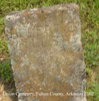 MILLER, ROBERT E. - Fulton County, Arkansas | ROBERT E. MILLER - Arkansas Gravestone Photos