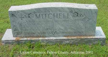 MITCHELL, ABRAHAM L - Fulton County, Arkansas | ABRAHAM L MITCHELL - Arkansas Gravestone Photos