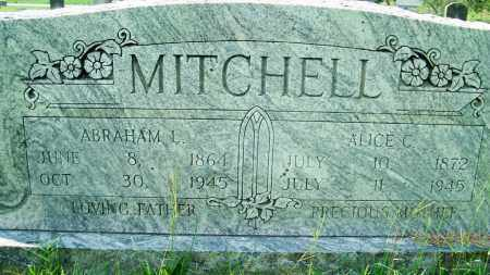 MITCHELL, ALICE C. - Fulton County, Arkansas | ALICE C. MITCHELL - Arkansas Gravestone Photos