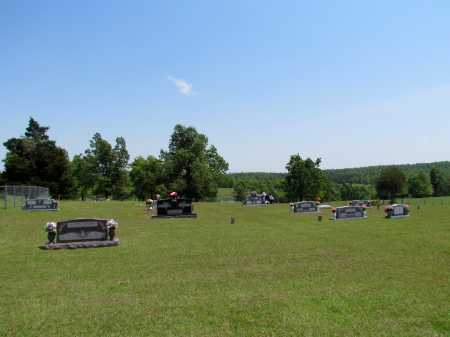 *MITCHELL CEMETERY VIEW,  - Fulton County, Arkansas |  *MITCHELL CEMETERY VIEW - Arkansas Gravestone Photos