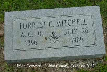 MITCHELL, FORREST C. - Fulton County, Arkansas | FORREST C. MITCHELL - Arkansas Gravestone Photos