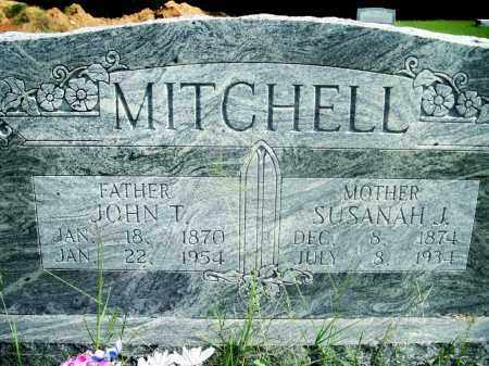 MITCHELL, JOHN T. - Fulton County, Arkansas | JOHN T. MITCHELL - Arkansas Gravestone Photos