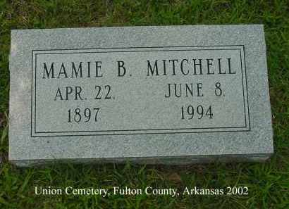 BLEVINS MITCHELL, MAMIE B. - Fulton County, Arkansas | MAMIE B. BLEVINS MITCHELL - Arkansas Gravestone Photos