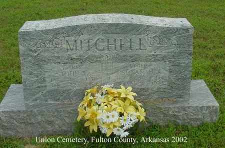 MONTGOMERY MITCHELL, SUSANAH J. - Fulton County, Arkansas | SUSANAH J. MONTGOMERY MITCHELL - Arkansas Gravestone Photos