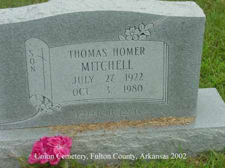 MITCHELL, THOMAS HOMER - Fulton County, Arkansas | THOMAS HOMER MITCHELL - Arkansas Gravestone Photos