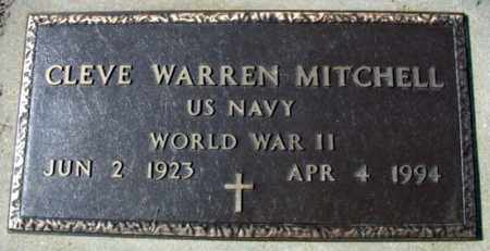 MITCHELL (VETERAN WWII), CLEVE WARREN - Fulton County, Arkansas | CLEVE WARREN MITCHELL (VETERAN WWII) - Arkansas Gravestone Photos