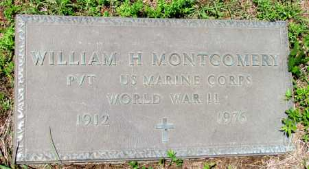 MONTGOMERY (VETERAN WWII), WILLIAM H - Fulton County, Arkansas | WILLIAM H MONTGOMERY (VETERAN WWII) - Arkansas Gravestone Photos