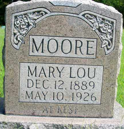 MOORE, MARY LOU - Fulton County, Arkansas | MARY LOU MOORE - Arkansas Gravestone Photos