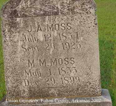 FERGUSON MOSS, MARY M. - Fulton County, Arkansas | MARY M. FERGUSON MOSS - Arkansas Gravestone Photos