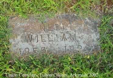 NEEL, WILLIAM - Fulton County, Arkansas | WILLIAM NEEL - Arkansas Gravestone Photos