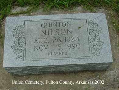 NILSON, QUINTON - Fulton County, Arkansas | QUINTON NILSON - Arkansas Gravestone Photos