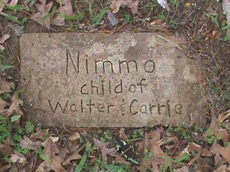 NIMMO, CHILD - Fulton County, Arkansas | CHILD NIMMO - Arkansas Gravestone Photos