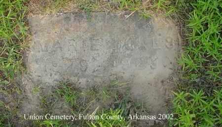 NOKES, MARIE - Fulton County, Arkansas | MARIE NOKES - Arkansas Gravestone Photos