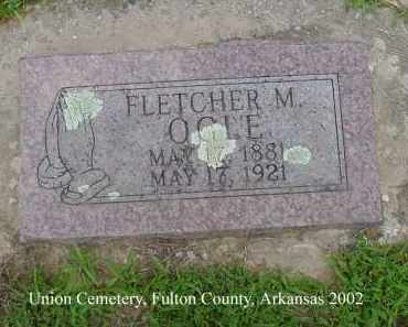 OGLE, FLETCHER M. - Fulton County, Arkansas | FLETCHER M. OGLE - Arkansas Gravestone Photos