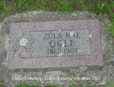 OGLE, ZULA MAE - Fulton County, Arkansas | ZULA MAE OGLE - Arkansas Gravestone Photos