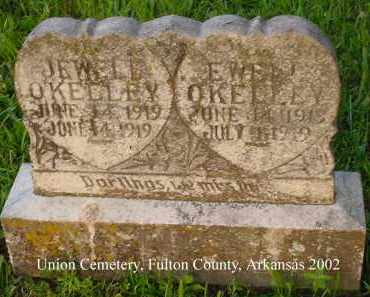 O'KELLEY, EWELL - Fulton County, Arkansas | EWELL O'KELLEY - Arkansas Gravestone Photos