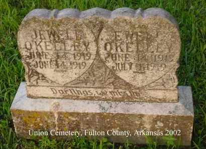 O'KELLEY, JEWELL - Fulton County, Arkansas | JEWELL O'KELLEY - Arkansas Gravestone Photos