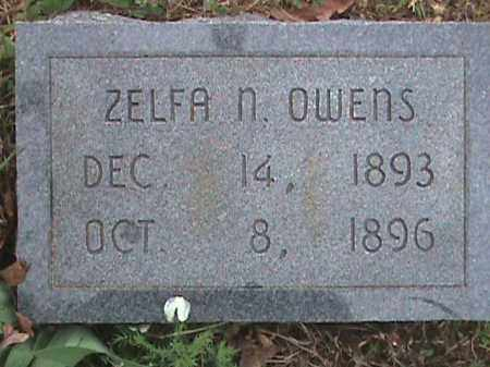OWENS, ZELFA N. - Fulton County, Arkansas | ZELFA N. OWENS - Arkansas Gravestone Photos
