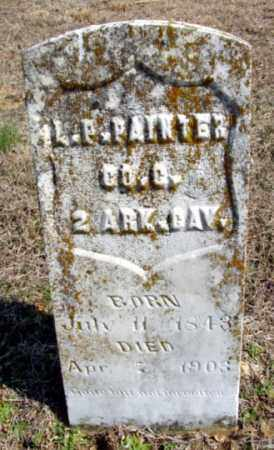 PAINTER (VETERAN UNION), L P - Fulton County, Arkansas | L P PAINTER (VETERAN UNION) - Arkansas Gravestone Photos