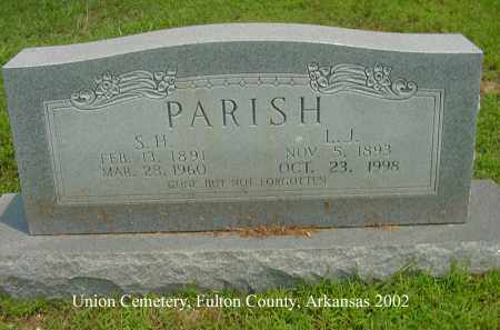 PARISH, LORA JANE - Fulton County, Arkansas | LORA JANE PARISH - Arkansas Gravestone Photos