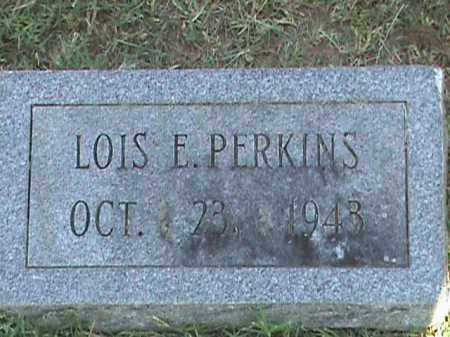 PERKINS, LOIS E - Fulton County, Arkansas | LOIS E PERKINS - Arkansas Gravestone Photos