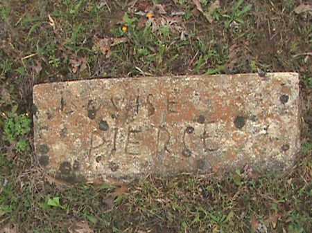 PIERCE, LOUISE - Fulton County, Arkansas   LOUISE PIERCE - Arkansas Gravestone Photos
