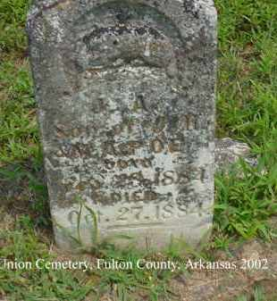 POE, J. A. - Fulton County, Arkansas | J. A. POE - Arkansas Gravestone Photos