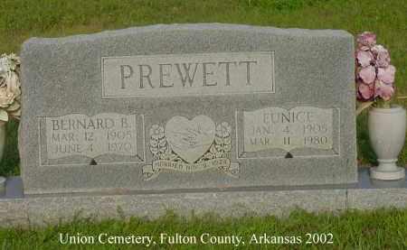 PREWETT, BERNARD B. - Fulton County, Arkansas | BERNARD B. PREWETT - Arkansas Gravestone Photos