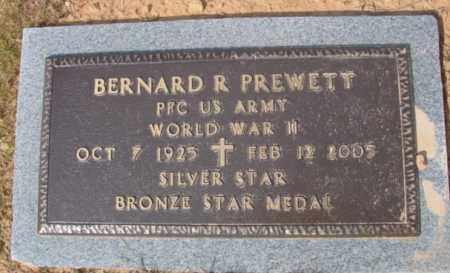 PREWETT (VETERAN WWII), BERNARD R - Fulton County, Arkansas | BERNARD R PREWETT (VETERAN WWII) - Arkansas Gravestone Photos