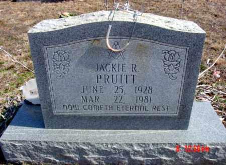 PRUITT, JACKIE R. - Fulton County, Arkansas | JACKIE R. PRUITT - Arkansas Gravestone Photos