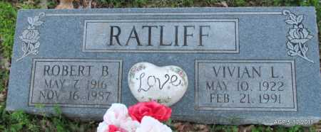 RATLIFF, ROBERT B - Fulton County, Arkansas | ROBERT B RATLIFF - Arkansas Gravestone Photos