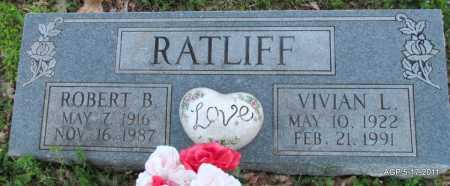 RATLIFF, VIVIAN L - Fulton County, Arkansas | VIVIAN L RATLIFF - Arkansas Gravestone Photos