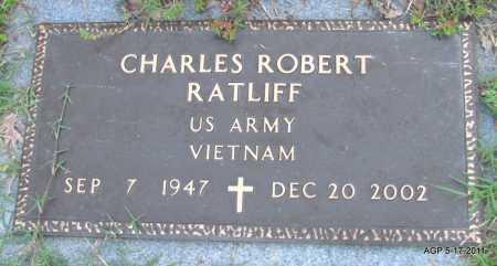 RATLIFF (VETERAN VIET), CHARLES ROBERT - Fulton County, Arkansas | CHARLES ROBERT RATLIFF (VETERAN VIET) - Arkansas Gravestone Photos
