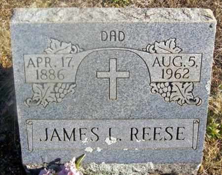 REESE, JAMES L. - Fulton County, Arkansas | JAMES L. REESE - Arkansas Gravestone Photos