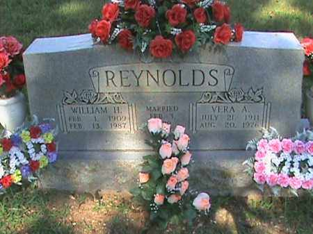 REYNOLDS, VERA A. - Fulton County, Arkansas | VERA A. REYNOLDS - Arkansas Gravestone Photos