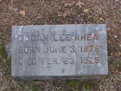 RHEA, OSCAR - Fulton County, Arkansas | OSCAR RHEA - Arkansas Gravestone Photos