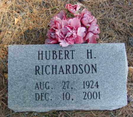 RICHARDSON, HUBERT H. - Fulton County, Arkansas | HUBERT H. RICHARDSON - Arkansas Gravestone Photos