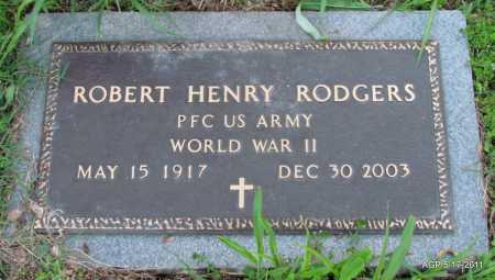 RODGERS (VETERAN WWII), ROBERT HENRY - Fulton County, Arkansas | ROBERT HENRY RODGERS (VETERAN WWII) - Arkansas Gravestone Photos