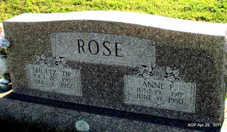 ROSE, ANNE R - Fulton County, Arkansas | ANNE R ROSE - Arkansas Gravestone Photos