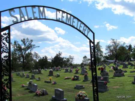 *SALEM CEMETERY VIEW,  - Fulton County, Arkansas |  *SALEM CEMETERY VIEW - Arkansas Gravestone Photos