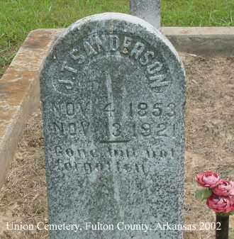 SANDERSON, J. T. - Fulton County, Arkansas | J. T. SANDERSON - Arkansas Gravestone Photos