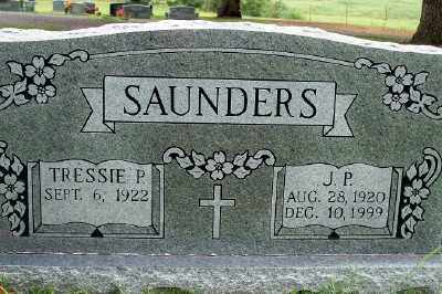 SAUNDERS, J.P. - Fulton County, Arkansas | J.P. SAUNDERS - Arkansas Gravestone Photos