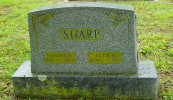 BRINTEN SHARP, LUCY S. - Fulton County, Arkansas | LUCY S. BRINTEN SHARP - Arkansas Gravestone Photos