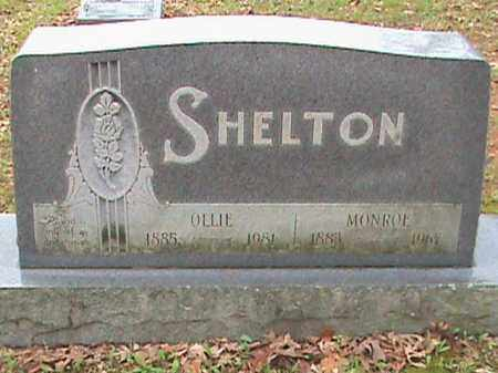 SHELTON, MONROE - Fulton County, Arkansas | MONROE SHELTON - Arkansas Gravestone Photos
