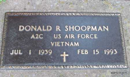SHOOPMAN (VETERAN VIET), DONALD R - Fulton County, Arkansas | DONALD R SHOOPMAN (VETERAN VIET) - Arkansas Gravestone Photos