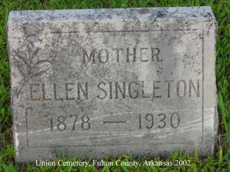 SINGLETON, ELLEN - Fulton County, Arkansas | ELLEN SINGLETON - Arkansas Gravestone Photos