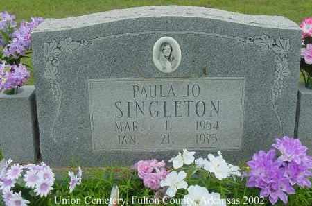 SINGLETON, PAULA JO - Fulton County, Arkansas | PAULA JO SINGLETON - Arkansas Gravestone Photos