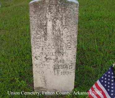 SINGLETON  (VETERAN CSA), WILLIAM C - Fulton County, Arkansas | WILLIAM C SINGLETON  (VETERAN CSA) - Arkansas Gravestone Photos