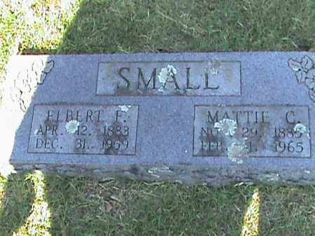 SMALL, ELBERT F. - Fulton County, Arkansas | ELBERT F. SMALL - Arkansas Gravestone Photos